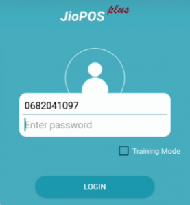 Jio pos plus login