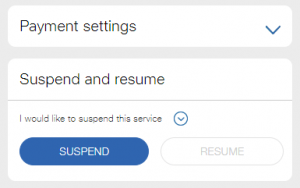 jio sim suspend and resume